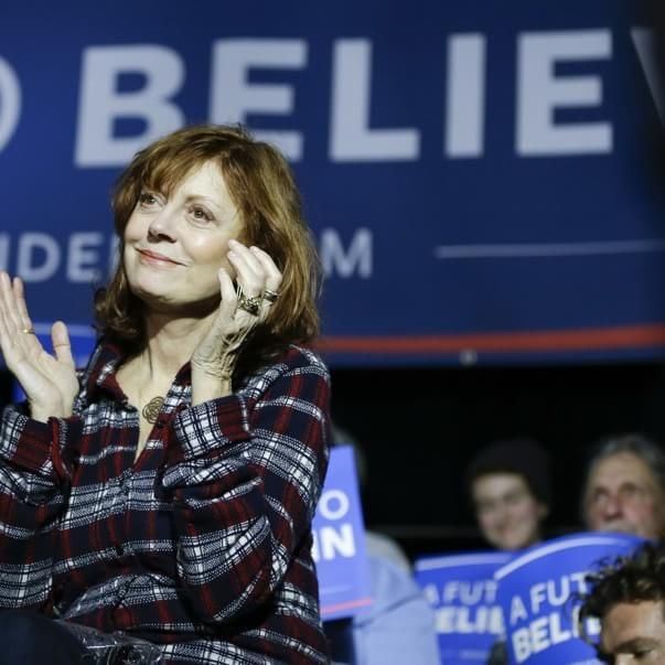 What Susan Sarandon said about Trump was out of this world