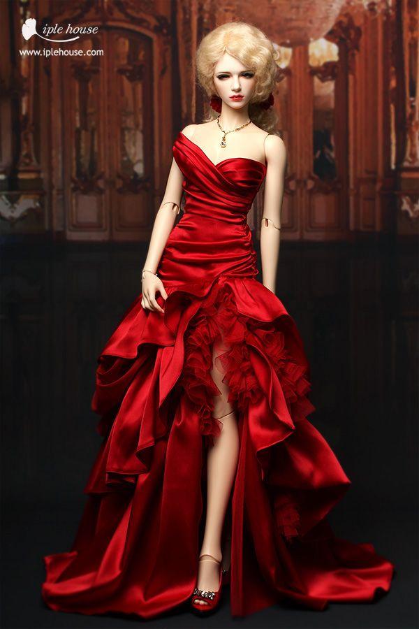 ITEM VIEW : SID - Woman - SID/nYID_Woman Red serapina dress