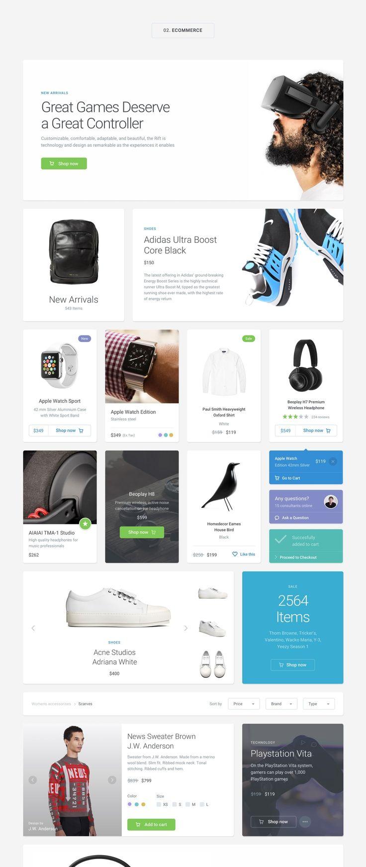 UI8 — Products — Module 01 UI Kit