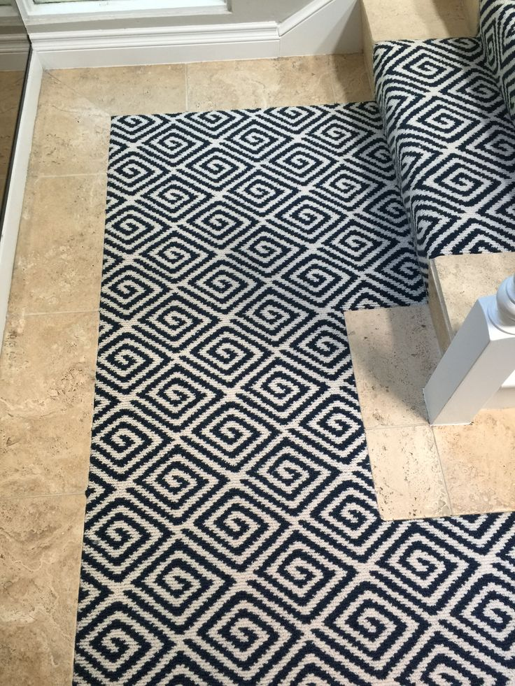 93 Best Images About Stair Runners On Pinterest Mesas