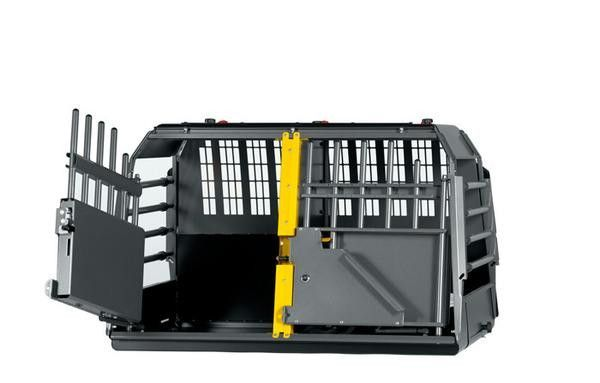 MIM Variocage Double - Car Crash Tested Dog Travel Crate for Two Dogs