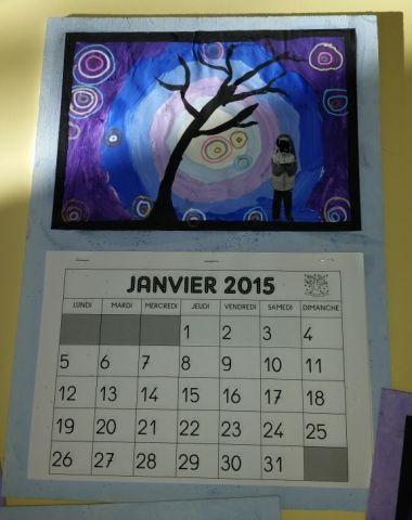 Cadeau de Noel: calendrier - Arbres - Galerie - Forums-enseignants-du-primaire