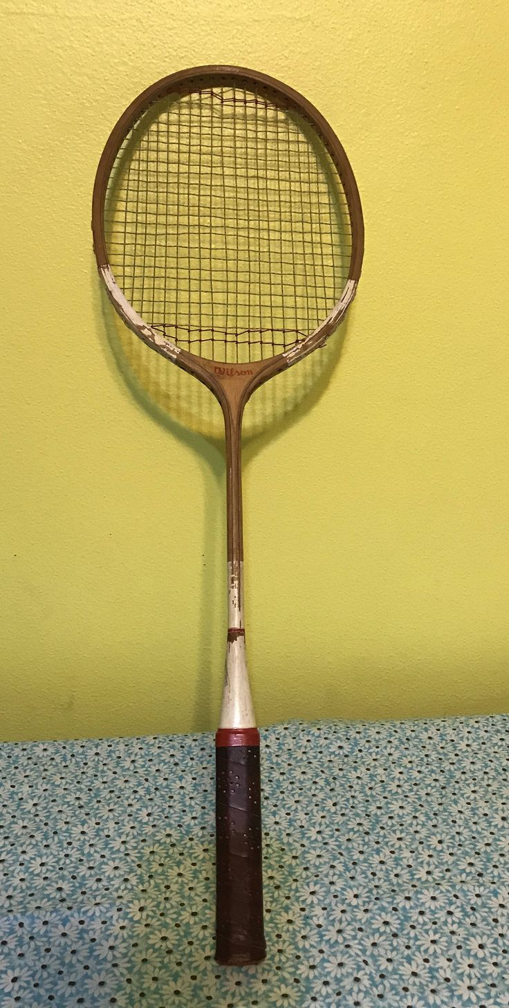 A personal favorite from my Etsy shop https://www.etsy.com/listing/536296463/vintage-wilson-badminton-racket