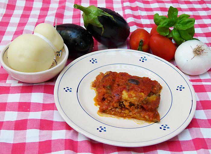 Parmigiana di melanzane leccese - Cucina pugliese - Puglia