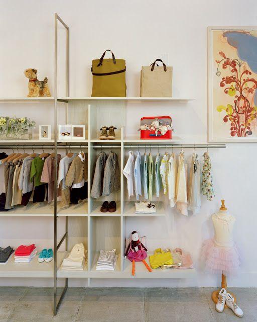 Imagine These: Retail Interior Design | Children Fashion Store,Milk | Oakland, California By Nilus Designs