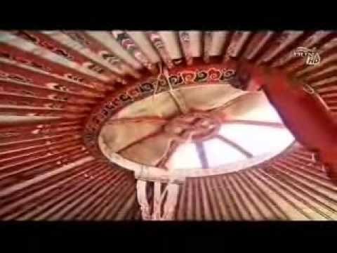 Jurta szállás az Őrségben - Kercaszomoron, mongol jurtákban - YouTube