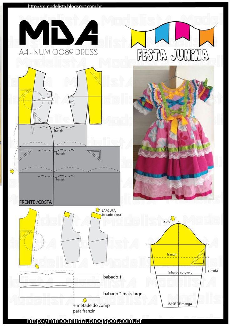 ModelistA: A4 NUM 0089 DRESS
