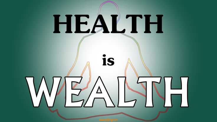 Health is wealth quote wallpapers