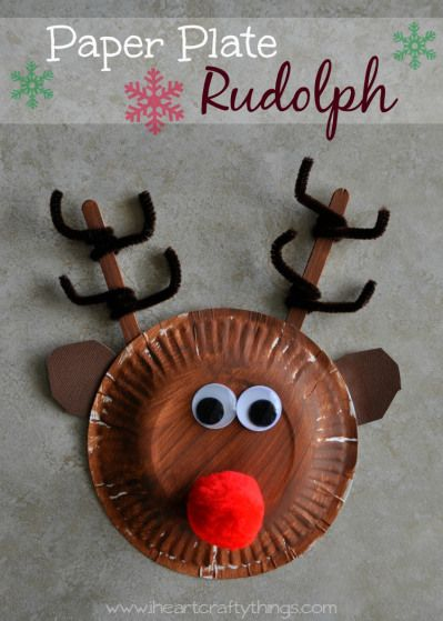 Reindeer Roundup! - 15 Reindeer Crafts and Activities for kids! - The Well Nourished Nest