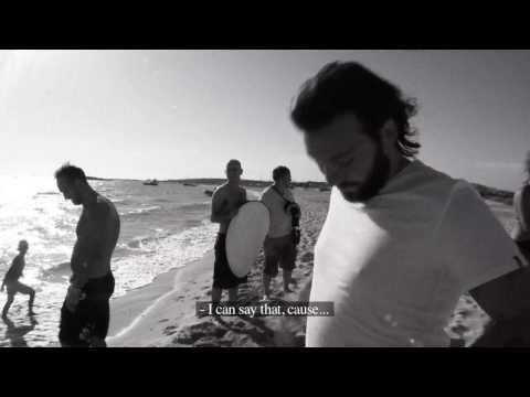 SHM doing a photo shoot for Victorias Secret(?) in Formentera, Ibiza, August 2009