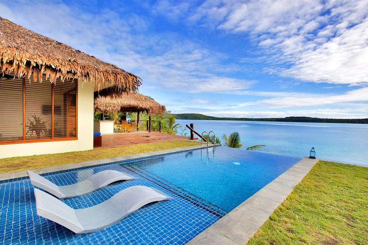 The brand new Deluxe Waterfront Villas... how gorgeous.....