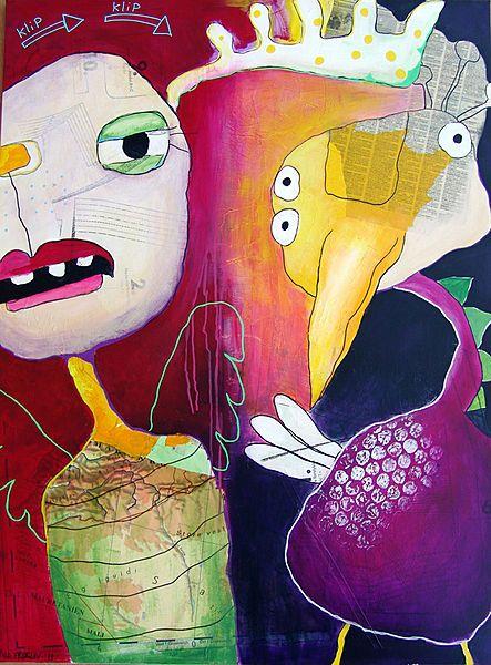 Hvor er mine vinger?/Where are my wings?, 120x90 cm., Line Frøslev, 2011. www.linefroeslev.dk
