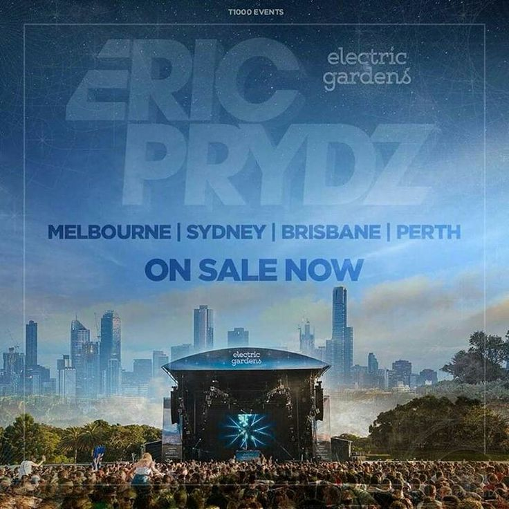 Eric Prydz will headline Electric Gardens festival in 2017
