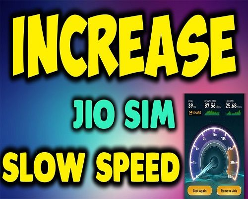 How to Increase Jio Internet Speed upto 8Mbps | Jio 2017 Tricks