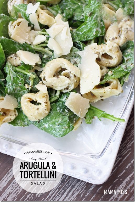 Arugula Tortellini Salad: Argula Tortellini, Arugula Tortellini, Recipes Salad Sandwiches, Friends Recipes, Foods Salad, Recipes Yummo, Kidfriend Salad, Cheese Tortellini, Tortellini Salad