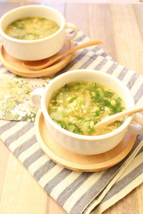 セロリの洋風かきたまスープ by 川田 亜矢 | レシピサイト「Nadia ...