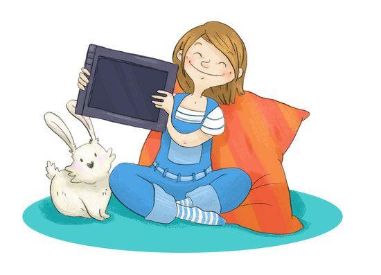 Les enfants et internet © Cébé