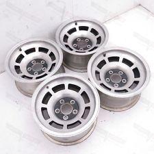 Corvette Original Kelsey Hayes 15x8 Aluminum Slot Wheel Rim Set of 4 1980-1982