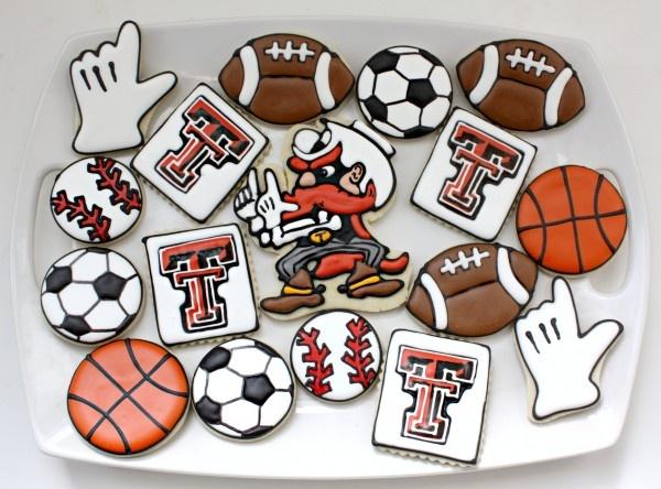 Texas Tech Cookies