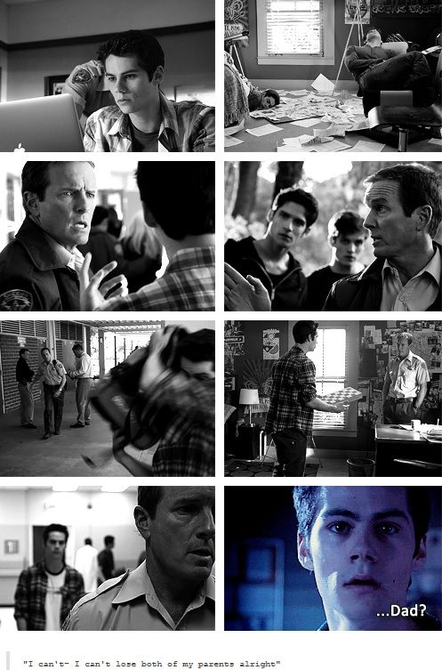 I feared up when styles dad got taken but when Scott's mom was taken and then Scott joined the alpha pack I cried a lot