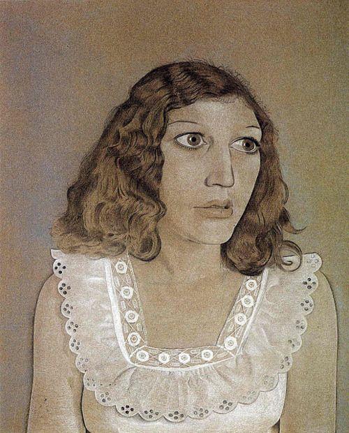 Lucian Freud, Portrait of Kitty Garman