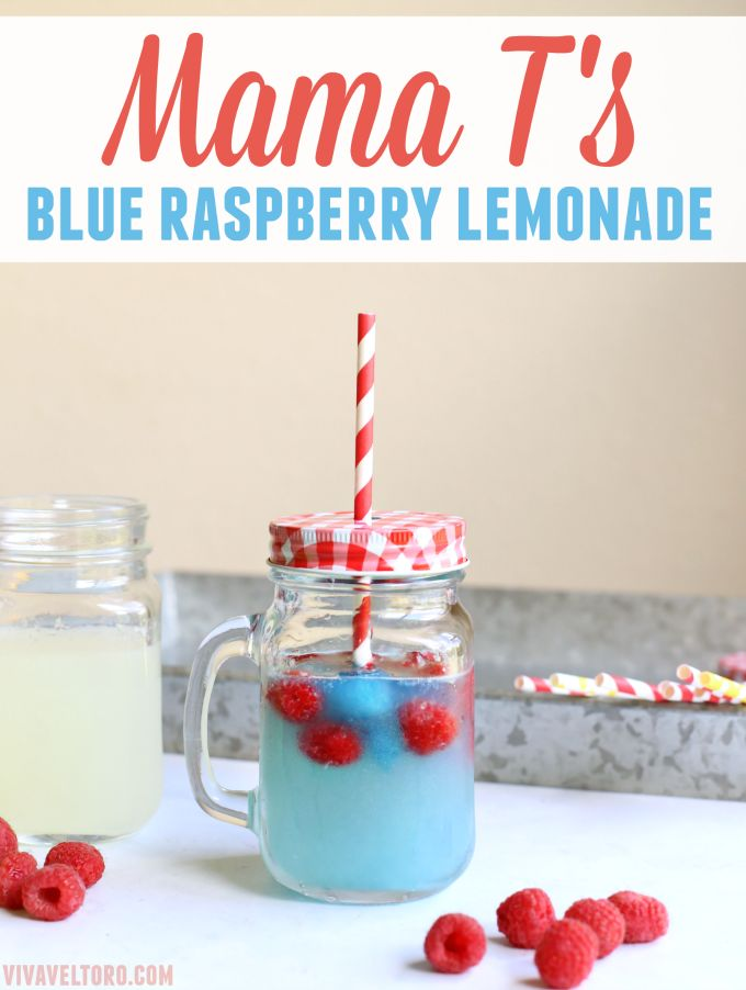 This blue raspberry lemonade recipe is so fun and such a hit with kids! We found it when we here hosted #onlyatsawgrass but make it at home too!