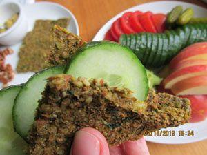 Guest Post:Raw Juice Pulp Flatbread Recipe