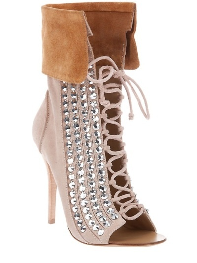 Giuseppe Zanotti crystal ankle boot