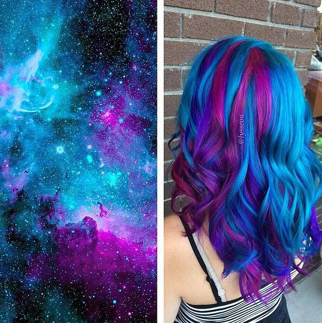 Galaxy Hair Color Ideas