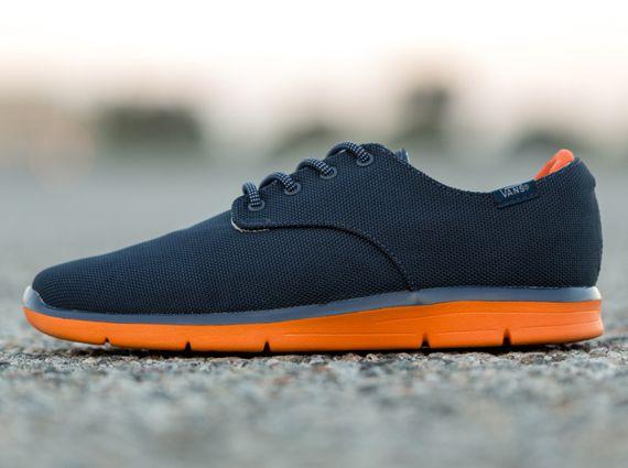 Vans OTW Prelow - Navy & Orange sneaker.  Must look for these!