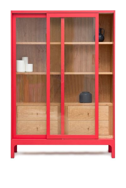 Pinch Design - Joyce Cabinet. This would be very possible and absolutely stunning from plywood.
