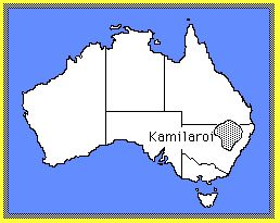 CLICK for dictionary; MAP: Kamilaroi region,  northern NSW, Australia: 4KB