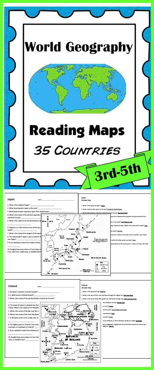 World Geography: Reading Maps (35 Countries). This 100+ page download gives students ample opportunity to practice the skills of reading maps while learning about 35 different countries! Also included: Country Study Graphic Organizer. Download Club members can download @ http://www.christianhomeschoolhub.com/pt/World-Geography-Teaching-Resources--Downloads/wiki.htm