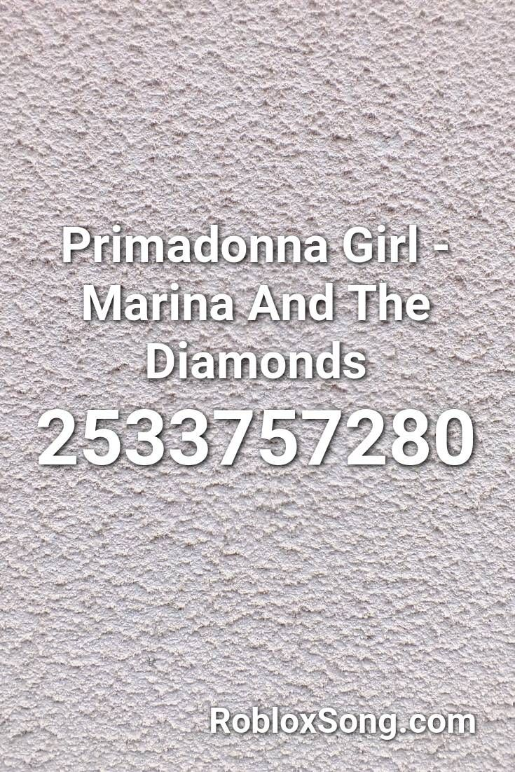Pin By Dontmakemegetviolent On Robloxcodes Marina And The Diamonds Primadonna Roblox
