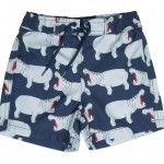 Hippo Swim Shorts - Minou Kids