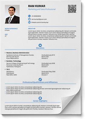 Resume format in word and pdf | Shriresume | mahaveer | Resume ...