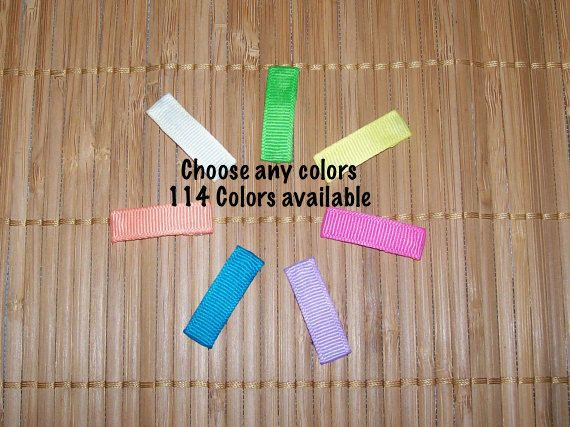 25 - 30mm - Solid Lined Snap Clips - 1 1/4 inches - Ribbon Lined Mini Snap Clips - Mini Snap Hair Clips - Made To Order - Any Colors #InfantSnapClips #30mmSnapClipSet #RibbonLinedMini #RibbonLinedClips #HairBowSupply #BabyLinedSnapClip #InfantLinedClips #MiniLinedHairClip #BabyLinedHairClip #30mmBabyClips
