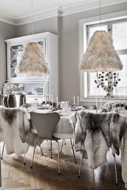 Nordisk jul med et tvist af romantik | Mad & Bolig