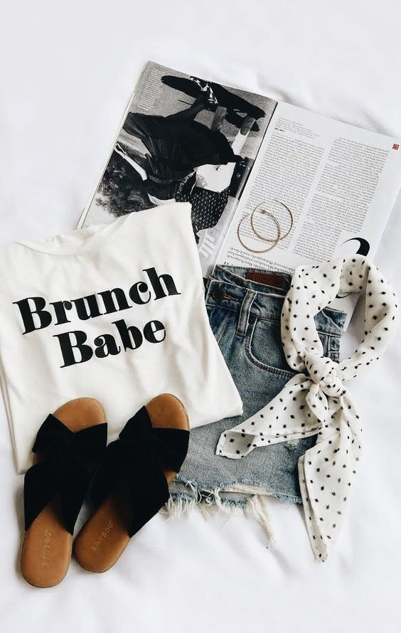 Clothes flatlay | LOVE in 2019 | Fashion, Cool summer ...