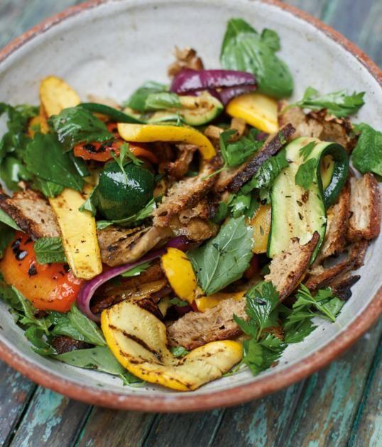 Grillgemüse-Salat Rezept - [ESSEN UND TRINKEN]