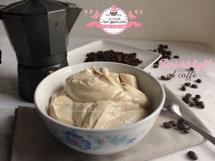 Dessert light al caffè (95 calorie)