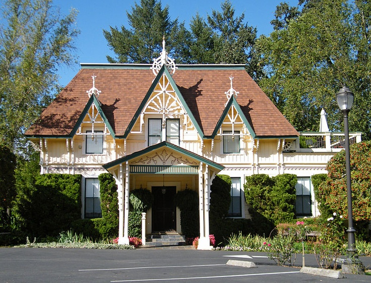 Carriage House at Madrona Manor is a Victorian-era Wine Country bed and breakfast inn in Healdsburg, California, United States