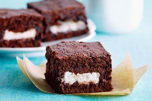 Chocolate-Mint Brownies Recipe - Kraft Recipes