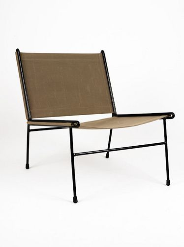 Clement Meadmore: Canvas Sling Chair, c1955