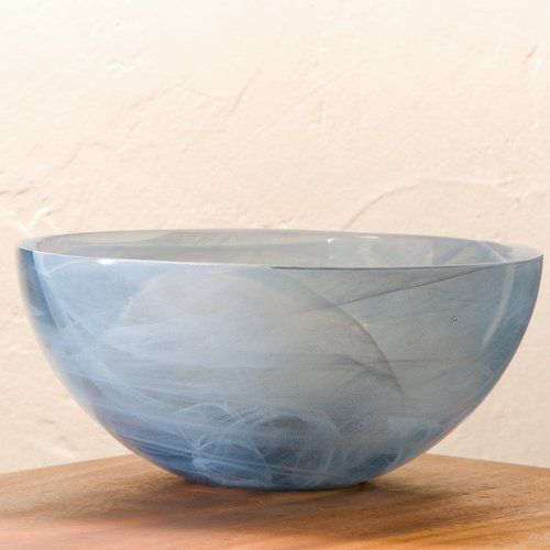 Found it at Wayfair - Aurora Recycled Glass Serving Bowl