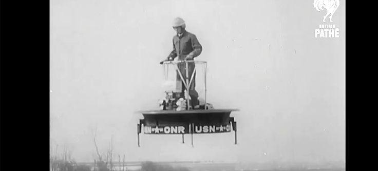 "Video : It was all about the ""flying skateboard"" back in 1955!: Automotive Peeps, Flying Skateboard, Platform, 1955, Videos"