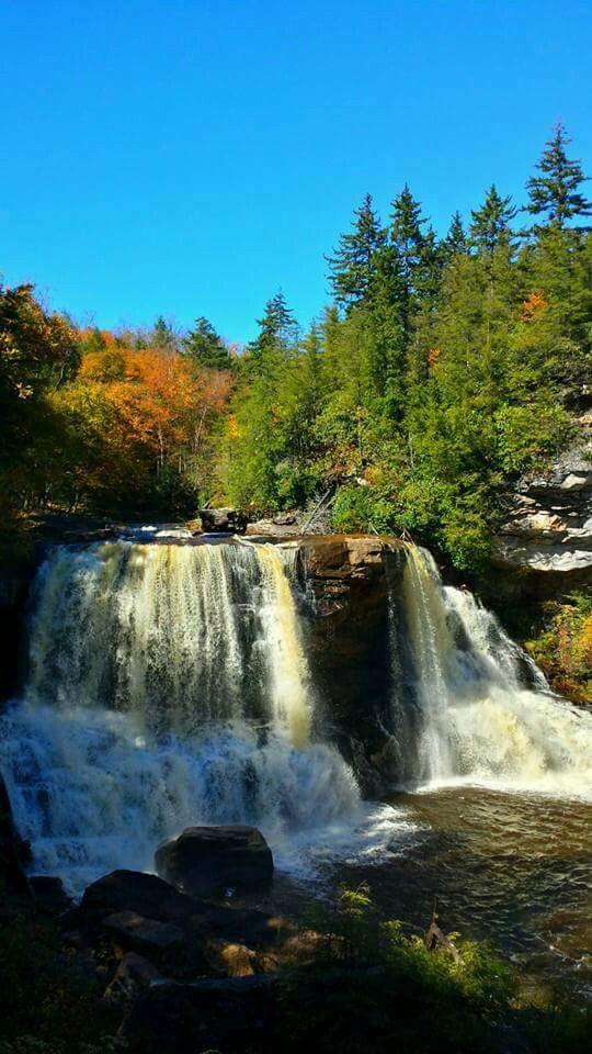 Blackwater Falls in West Virginia by Shane Cooper