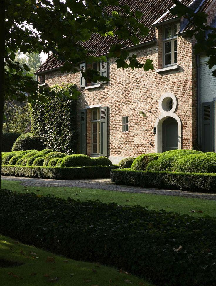 Belgian exterior bricks