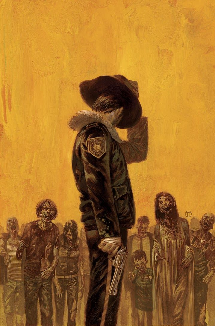 The Walking Dead by Julian Totino Tedesco *