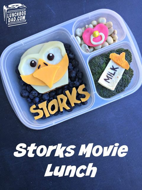 Learn how to make my Storks lunch inspired by thenew animated movie STORKS! Your kids will be so excited to get this in their lunchbox. My family and I are so pumped for this movie to come out onSeptember 23rdthat we are taking my daughter to see it for her birthday! #ad #storks
